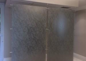 Elegant, sanitary partition
