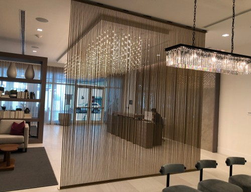 Air Partition in Hotel Lobby